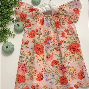 Gymboree Girls Floral Dress